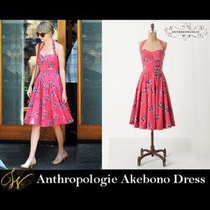 Anthropologie Girls From Savoy Akebono Dress